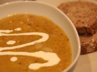Linsesuppe - inspirert av det tamilske kjøkken