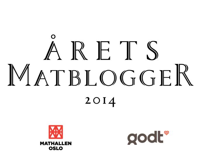 Aarets matblogger 2014_logo
