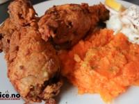 Crispy kylling til fotballfesten