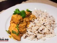 Indisk laksecurry med spennende vri