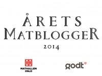 Stem på Årets Matblogger 2014