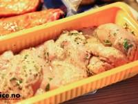 Timian- og sitronmarinade til kylling og grønnsaker