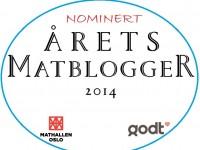 Hurra, Rice er er nominert til Årets matblogger 2014!